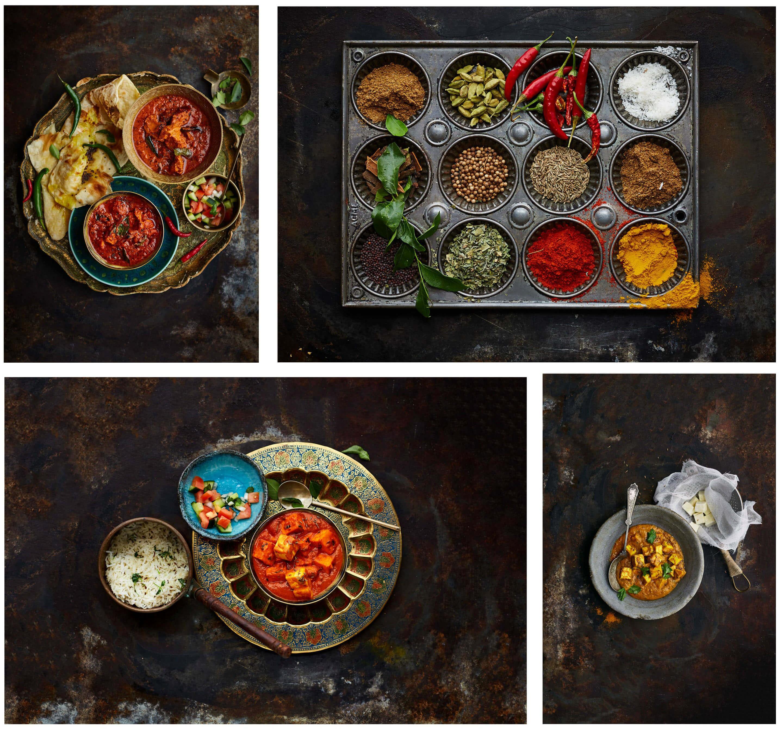 Curry Club Dark Collage